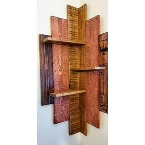 Boho Hanging wall shelf